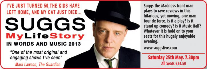 Suggs: My Life Story in Music &#038; Words
