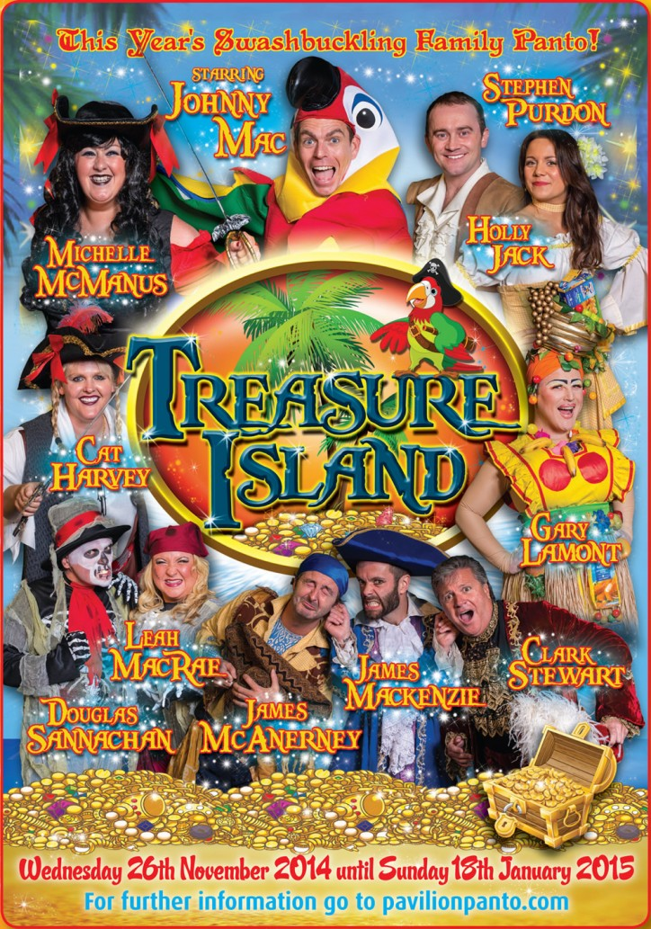 PANTO! Treasure Island - CLICK FOR MORE INFO!