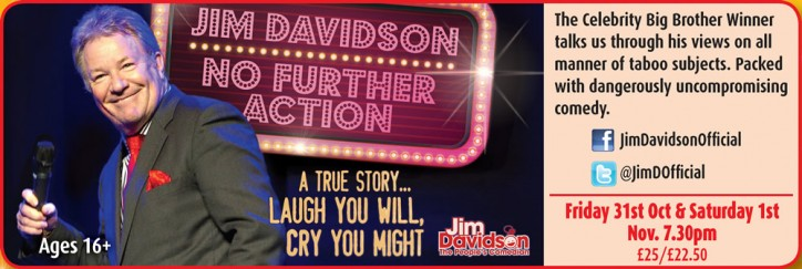 Jim Davidson: No Further Action - CLICK FOR MORE INFO!