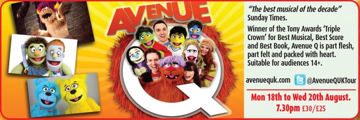 Avenue Q - CLICK FOR MORE INFO!