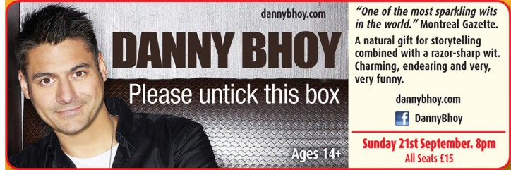 Danny Bhoy - CLICK FOR MORE INFO!