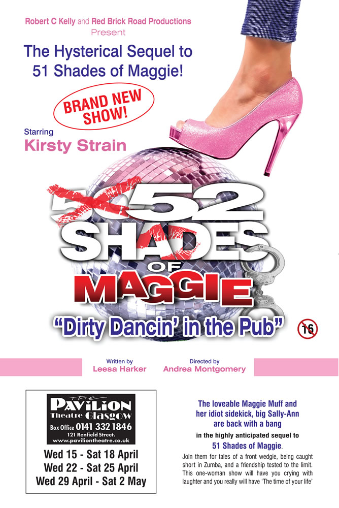 52 Shades of Maggie – Dirty Dancin' in the Pub - CLICK FOR MORE INFO!