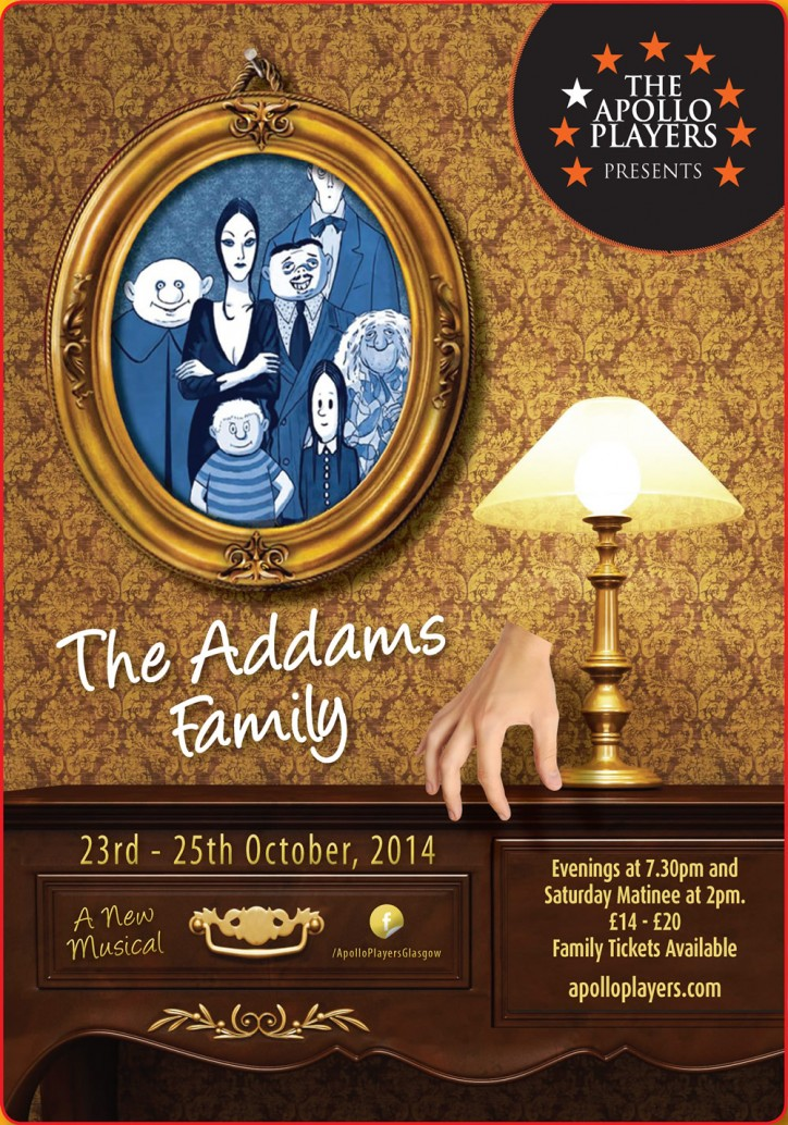 The Addams Family - CLICK FOR MORE INFO!