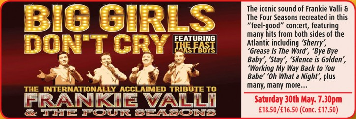 BIG GIRLS DON'T CRY - CLICK FOR MORE INFO!