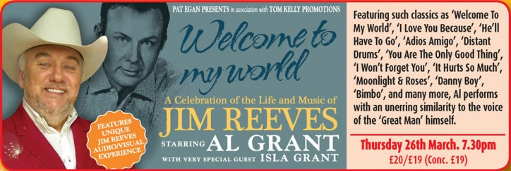 The Life & Music of Jim Reeves - CLICK FOR MORE INFO!