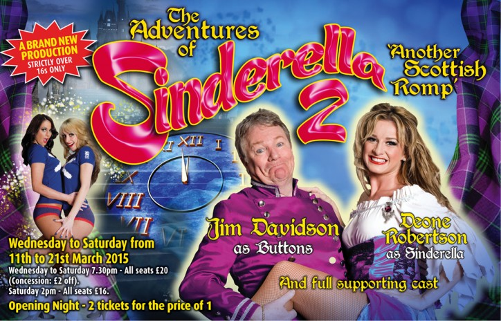 SINDERELLA 2 - CLICK FOR MORE INFO!