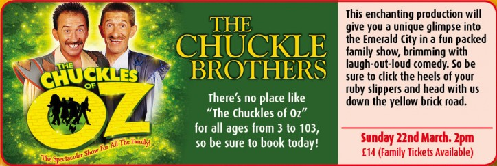 The Chuckle Brothers - CLICK FOR MORE INFO!