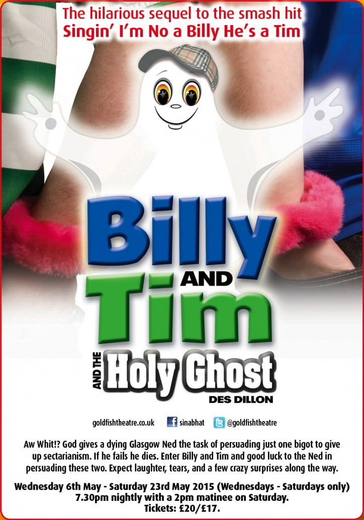 Billy & Tim and The Holy Ghost - CLICK FOR MORE INFO!