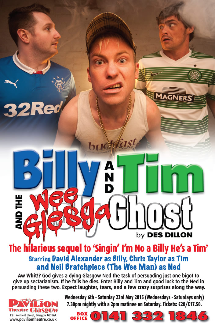 Billy & Tim and The Wee Glesga Ghost - CLICK FOR MORE INFO!