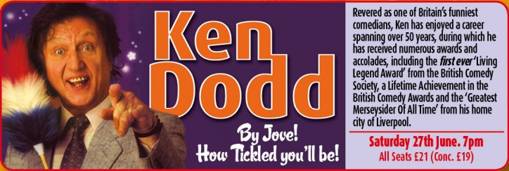 Ken Dodd - CLICK FOR MORE INFO!