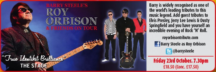 Roy Orbison & Friends - CLICK FOR MORE INFO!