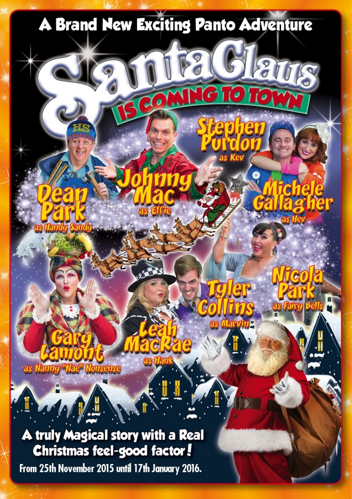 Panto – Santa Claus is coming to town - CLICK FOR MORE INFO!
