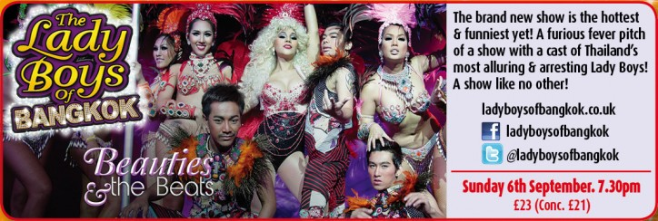 The Ladyboys of Bangkok - CLICK FOR MORE INFO!