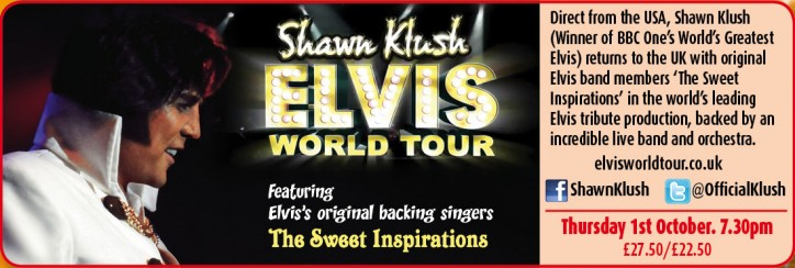Shawn Klush – The Elvis World Tour - CLICK FOR MORE INFO!