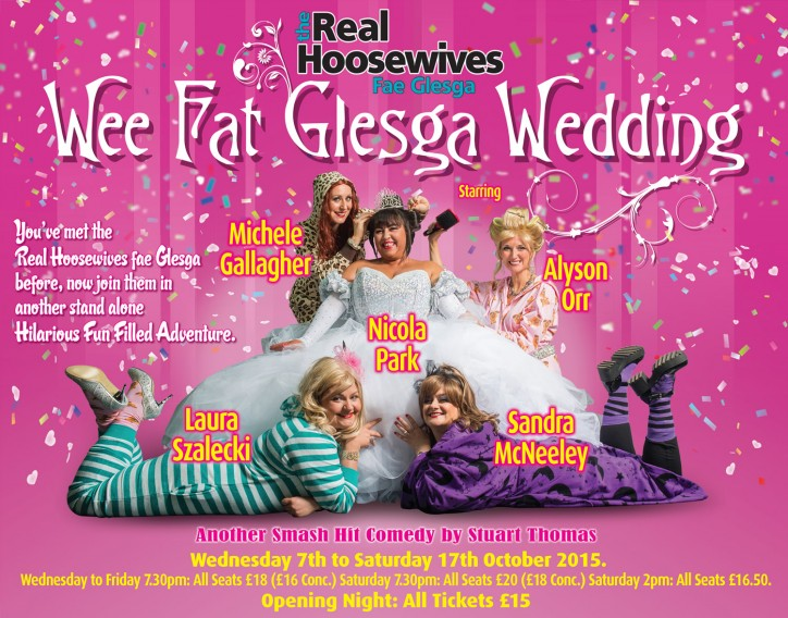 The Real Hoosewives Fae Glesga: Wee Fat Glesga Wedding - CLICK FOR MORE INFO!