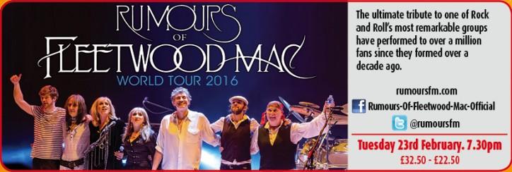 Rumours of Fleetwood Mac – with Original Fleetwood Mac guitarist, Rick Vito - CLICK FOR MORE INFO!