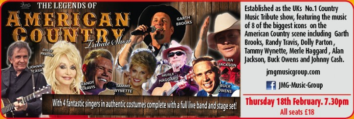 The Legends of American Country Show - CLICK FOR MORE INFO!