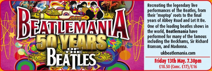 Beatlemania - CLICK FOR MORE INFO!