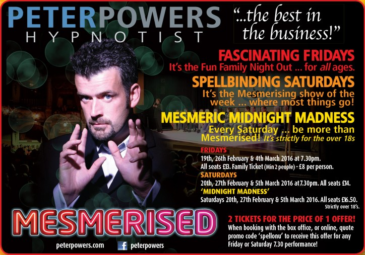 Peter Powers: Mesmerised - CLICK FOR MORE INFO!