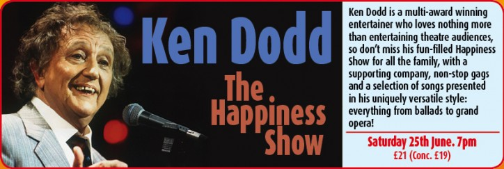 Ken Dodd - CLICK FOR MORE INFO!