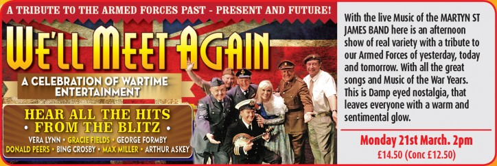 We'll Meet Again - CLICK FOR MORE INFO!