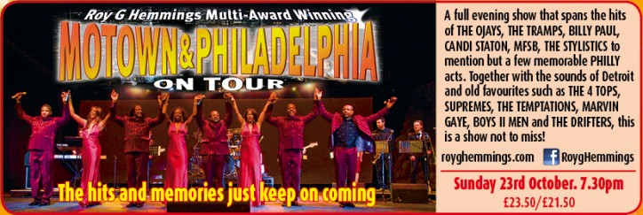 MOTOWN and PHILADELPHIA ON TOUR - CLICK FOR MORE INFO!