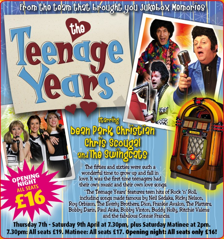 Jukebox Memories: The Teenage Years - CLICK FOR MORE INFO!