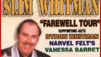 SLIM WHITMAN - BOOK NOW!