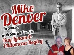 Mike Denver at the Pavilion Theatre, Glasgow