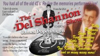 The Del Shannon Show – CANCELLED - BOOK NOW!