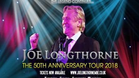 Joe Longthorne: 50th Anniversary Tour – NEW DATE