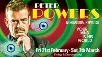 Peter Powers – International Hypnotist - BOOK NOW!