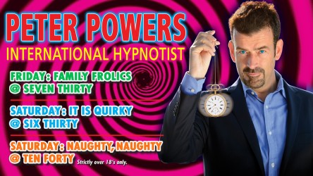 Peter Powers – International Hypnotist