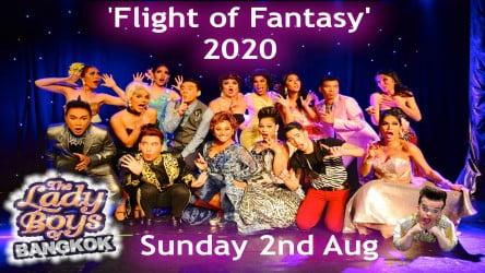 The Ladyboys of Bangkok – Rescheduled