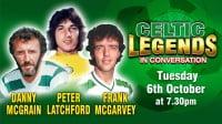 Celtic Legends In Conversation – Cancelled
