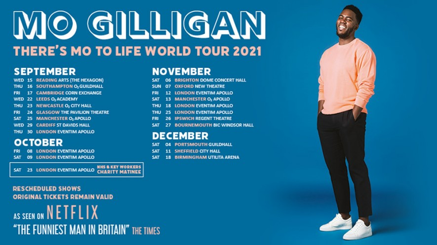 Mo Gilligan: There's Mo to Life – Rescheduled Performance